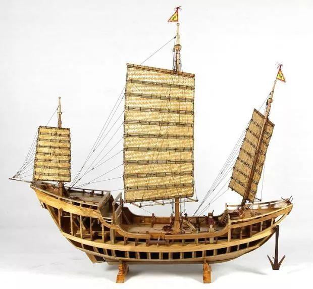 泉州深沪杨良盾先生所作泉州湾后诸宋船结构展示模型